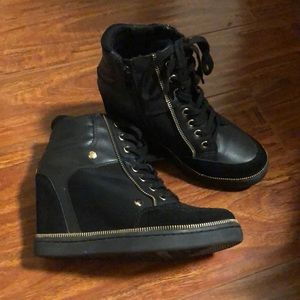 ALDO wedged ankle boots